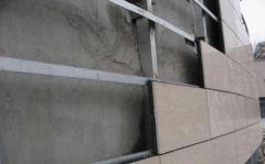 大理石干挂建筑物如何安装沉降观测点
