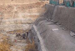 基坑支护施工以及基坑监测方法